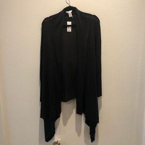 Mixit black hi low cardigan